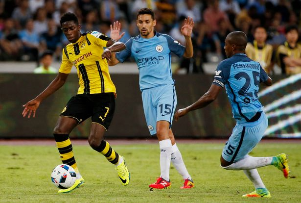 Borussia-Dortmund-v-Manchester-City-International-Champions-Cup